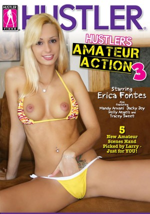 Hustler's Amateur Action #3  DVD