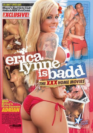 Erica Lynne Is Badd: The XXX Home Movies DVD